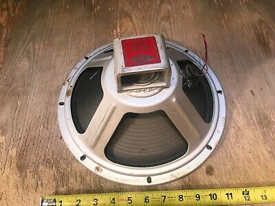 "Conn Custom 12"" Cletron Speaker Alnico 542 Minuet Organ"