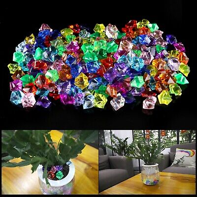 20 FUN PIRATE TREASURE ACRYLIC DIAMOND JEWELS PARTY SUPPLIES GAME PIECES STAGE