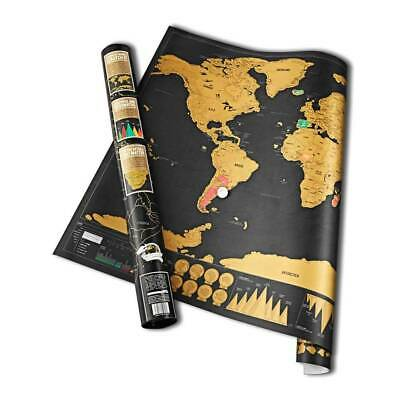 LUCKIES   Scratch Map   Deluxe Edition