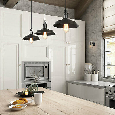 BARN INDUSTRIAL PENDANT Lighting for Kitchen Island Ceiling ...