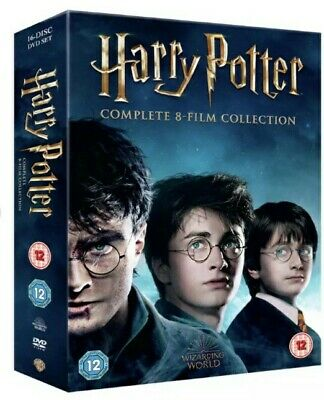 Harry Potter DVD Box Set 1-8 Complete 8 Film Collection Boxset - Region 2
