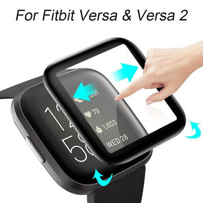 Glass Screen Protector 3D Protective Film Guard Cover For Fitbit Versa&Versa 2