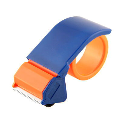 "1  Parcel Tape Gun Dispenser Hand Cutter Orange  50mm  2"" Quality"