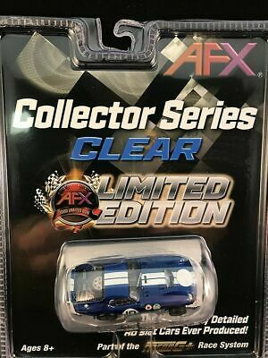 Afx Mega G Plus Collector Series Clear 1964 Shelby Cobra Daytona Coupe