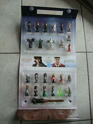 Serie Completa 24 Wizzis 2019 Harry Potter Collector Scatola Set Esselunga New