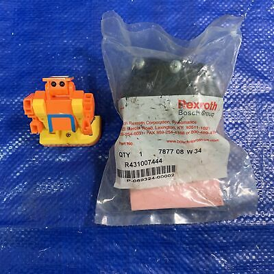 "Rexroth Bosch Group R431007444 1/4"" Quick Release Valve"