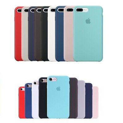 Cover Custodia In Silicone Originale Apple Per Iphone 7 Plus 8 Plus