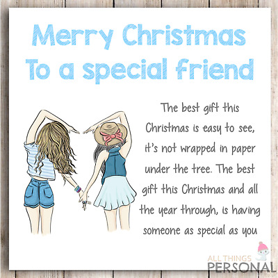 Funny Card For Friend Best Friend Cards Birthday Card For Friend Christmas PC514
