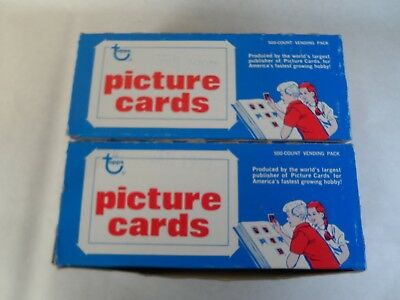Factory unopened unsearched 500 count box 1987 Topps Baseball Vending Box