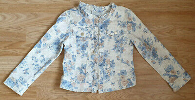 Mayoral jacket with flowers for girl 6 years