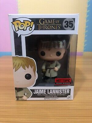Jaime Lannister (Gold Hand) Game of Thrones Funko Pop - Hot Topic Exclusive RARE