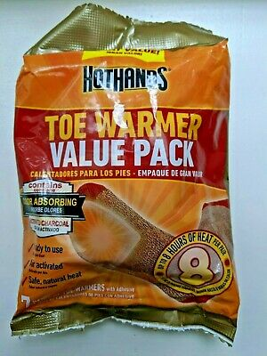 4 HotHands Toe Warmers 7 Pair = 28 total sets Exp 08/22 Hot Hands