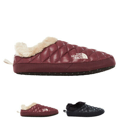 Ladies The North Face ThermoBall Tent Mule Faux Fur IV Outdoor Slipper All Sizes