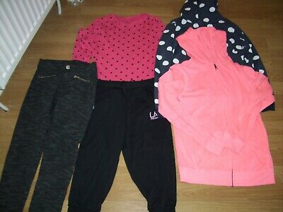 Girls winter bundle of clothing.Age 11-12 years.Hoodies, trousers and top.