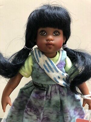 """8"""" Helen Kish Doll, Anjali, Riley's Pen Pal from India Excellent Condition NoBox"""