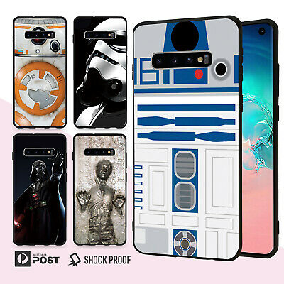 Star Wars Slim Bumper Case Cover For Samsung Galaxy S10 e 9 8 Edge Plus Note 009