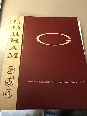 Gorham Sterling Silver Hollowware Salesman Catalogue Book 1962 .925 Bowl Charger