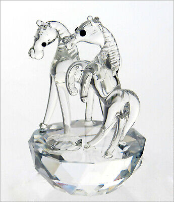 Crystal Glass Horse Figurine, Gift Idea, New and Boxed