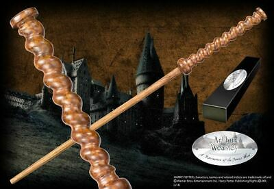 Harry Potter : ARTHUR WEASLEY CHARACTER WAND from The Noble Collection NOB8212