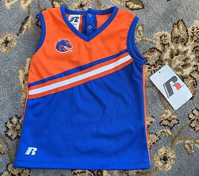 Girls Boise State Cheerleading Top Size XS 5/6 New With Tag