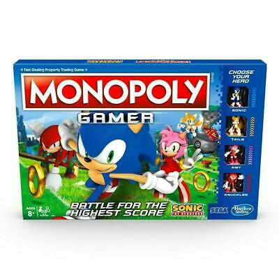 Monopoly Gamer Sonic The Hedgehog Edition Board Game Toy