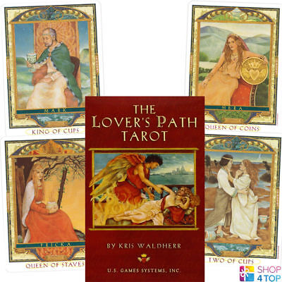The Lover's Path Tarot Cards Deck Kris Waldherr Esoteric Us Games Systems New
