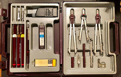 Vintage ROTRING Rapidograph College Tec-Set, made in Germany