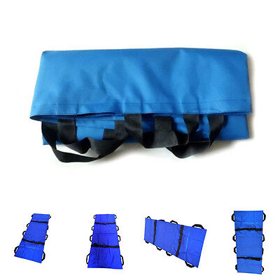 Household Soft Stretcher With 8 Handle Medical Stretcher Ambulance Aid New FS