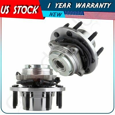 TRQ Driver or Passenger Front Rear Wheel Hub and Bearing Assembly w//ABS Sensor