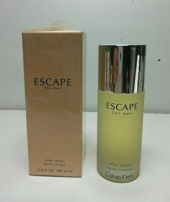 Calvin Klein Escape Men Afther Shave Lotion ( No Spray )  100 ml New & Rare