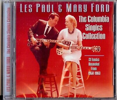 Les Paul & Mary Ford - The Columbia Singles Collection  '58 - '63      Cd 2001