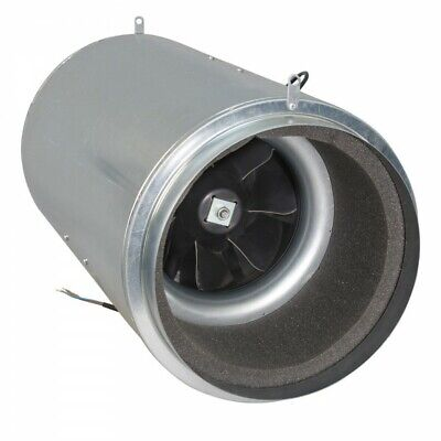 Hydroponics Iso-Max Fan - Extraction Fan - Quiet Running - High Quality