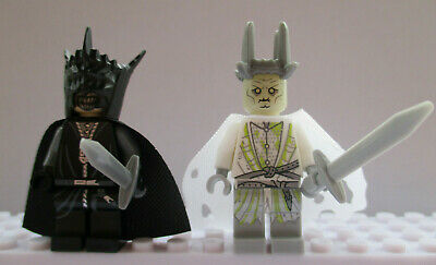 Lord Of The Rings The Hobbit Sauron Witch King 2 Mini Figures Use With lego set