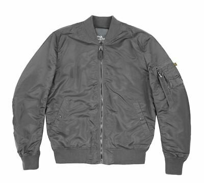 ALPHA INDUSTRIES MA 1 VF LW Men Herren 156101 136 Greyblack