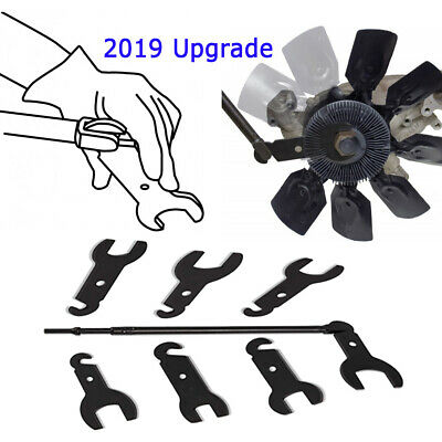 New Release 43300 Pneumatic Fan Clutch Wrench Set for Ford / GM / Chrysler/Jeep