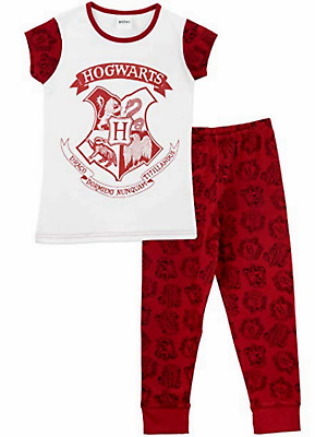 New Girls Boys Pyjamas Harry Potter Hogwarts nightie sleepwear short long
