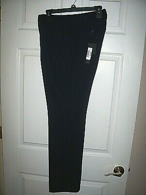 "WOMEN'S IVANKA TRUMP BLACK DRESS PANTS Waist 34"" Inseam 32"" BRAND NEW $79 TAGS!"