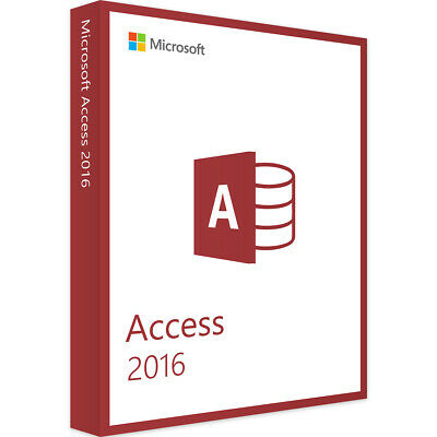 Microsoft Access 2016 Multilingual Full Version
