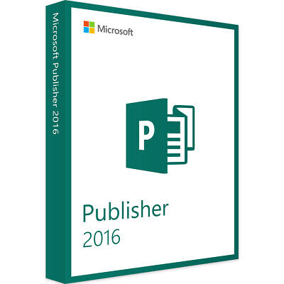 Microsoft Publisher 2016 Multilingual Full Version
