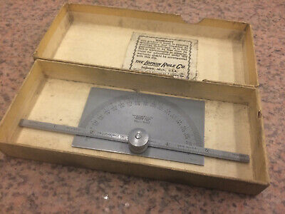 Lufkin C892 Chrome Clad Tempered Protractor/Machinist Tools
