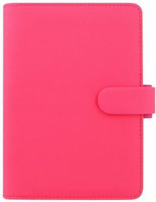 FILOFAX 19-028750 FICHIER CUIR ROSE PERSONAL FICHIERS CONVENTIONAL FILE (gi7)