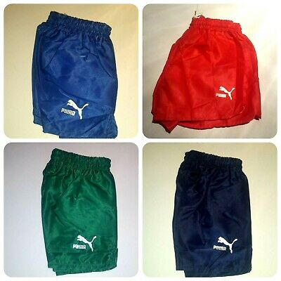 NEW Puma Vintage Shorts Shiny Running Football Retro Soccer West Germany 70 80's