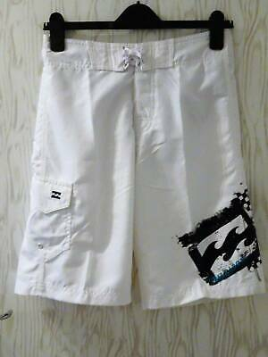 Billabong ~ Boardshorts ~ Surf Swim Shorts ~ 16 Years ~ Trailer ~White
