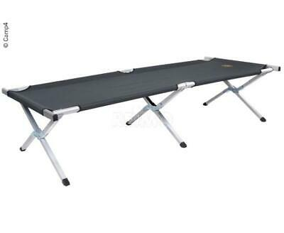 Camp4 Camp Cot Spare Bed Ebro Grey 191 x 71 x 42 cm 6,2 kg Loadable to 120 KG