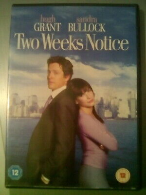 Two Weeks Notice DVD (2003) Hugh Grant