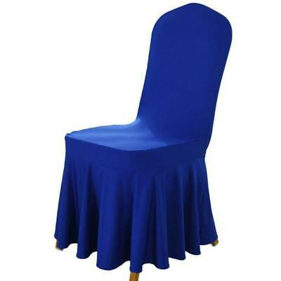 Stretch Chair Covers Seat Slip Covers Wedding Dining Kitchen Protective Elastic