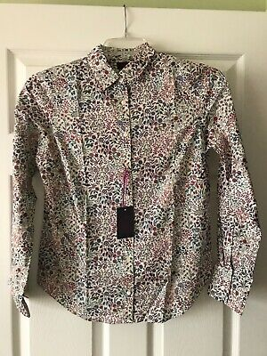 NWT SOLD OUT PUFF SLEEVE TOP IN LIBERTY SHEPHERDLY SONG SIZE XS S M L XL