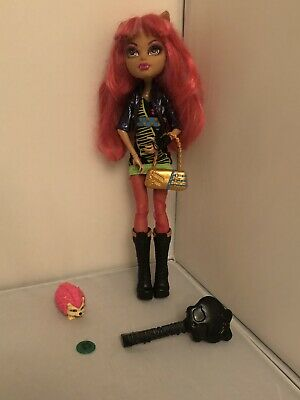 MONSTER HIGH HOWLEEN WOLF 13 WISHES DOLL With Pet