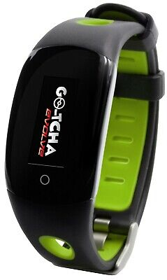 Go-tcha Evolve LED-Touch Wristband Watch for Pokemon Go Auto Catch/Spin  Green