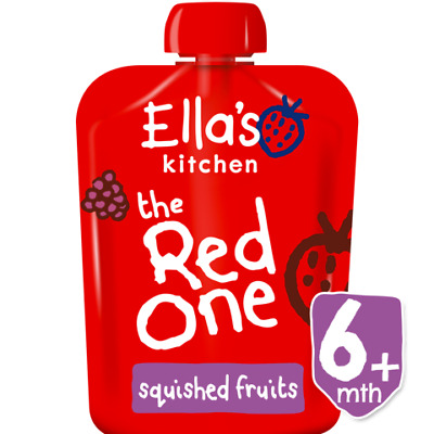 Ella's Kitchen The Red One 90g Fruit Smoothie Baby Food